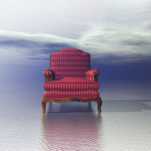 Digital Illustration of a Chair
